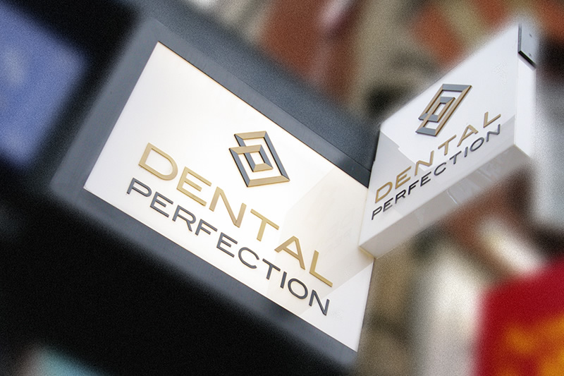 Dental Perfection entrance